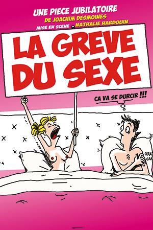 Affiche du spectacle : La grève du sexe