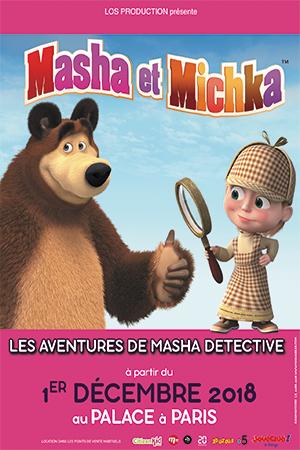 Affiche du spectacle : Masha et Mishka – Le spectacle