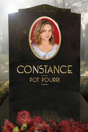 Affiche du spectacle : Constance Pot-pourri