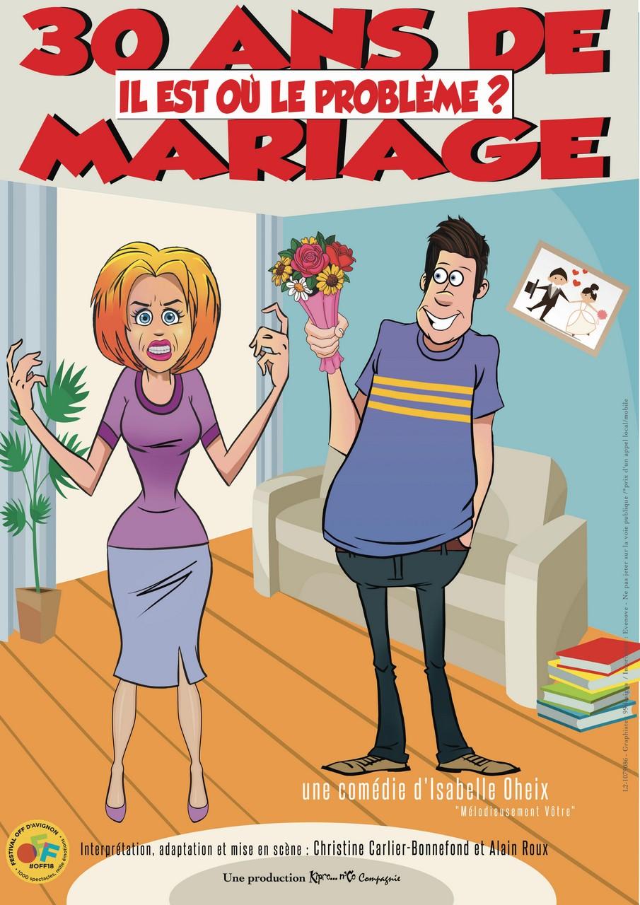 30 ans de mariage il est où le problème