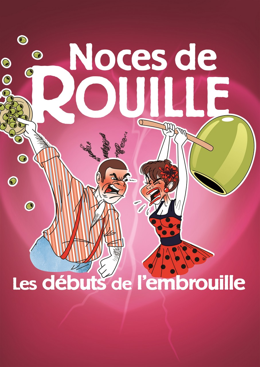 Affiche du spectacle : Noces de Rouille