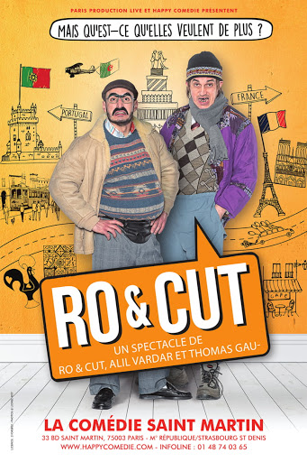 Affiche du spectacle : RO et CUT