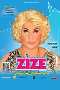 Affiche du spectacle : Zize Dupanier