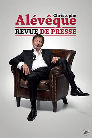 Affiche du spectacle : Christophe Alévêque